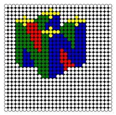 Nintendo Perler Bead Pattern   Bead Sprites   Misc Fuse Bead Patterns