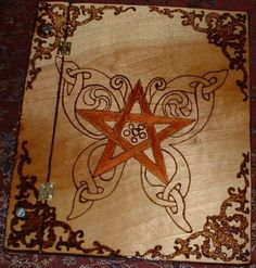 Butterfly Pentacle Book of Shadows