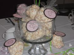 """Party favors for baby shower...back says, """"Can't wait for you to pop out!"""""""