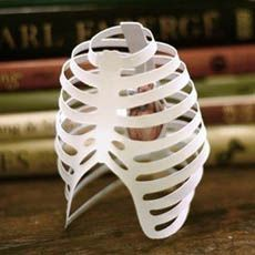 Paper Ribcage #IncredibleThings