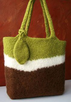 felted handknit bag  indiemoon   https://itunes.apple.com/us/app/blisslist-easy-shopping-gifting/id667837070