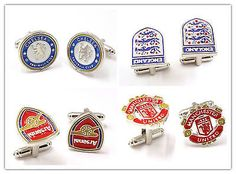 Chelsea england arsenal manchester #united #football club cufflinks #official , View more on the LINK: http://www.zeppy.io/product/gb/2/131703278915/