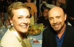 Julie Andrews and Hector Elizondo at the premier of The Princess Diaries