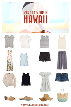 Planning a trip to Hawaii? Click here to get a full packing list for a Hawaiian vacation. | TravelFashionGirl.com