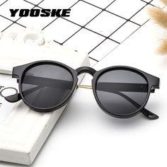 2269fc8037 YOOSKE Retro Round Sunglasses Men Women Unisex Vintage Design Small Sun  Glasses for men Driving Glasses