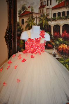 Special Occasion Dress Flower Girl Dress by SweetiekinsBoutique, $40.00 but in my wedding colors of course