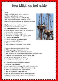Piraten werkboekje Diy Crafts For Kids, Teaching, School, Dutch, Museum, Carnival, Pirates, Shadows, Dutch Language