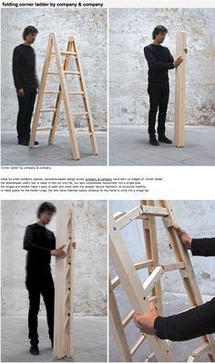 Designboom.com - folding ladder