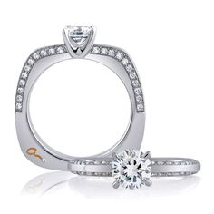 #bridalringscompany #bridal #rings #gold #silver #diamonds #diamonds #halo #stunning #wedding #bride #groom #jewelry #jewels #losangeles #downtown #forever #love #beautiful #sparkling #bling #pave #solitaire  www.bridalringscompany.com