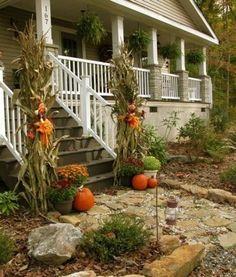41 Cozy Thanksgiving Porch Décor Ideas