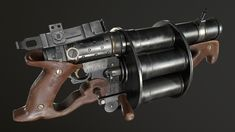 steampunk grenades - Google Search Anime Weapons, Sci Fi Weapons, Weapon Concept Art, Weapons Guns, Steampunk Weapons, Dieselpunk, Victorian Era, Dungeons And Dragons, Firearms