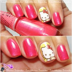 Hello Kitty Nail - Máah Adesivos