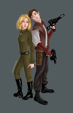 KOTOR 2 - Jedi Exile and Atton Rand by eclecticmuses on DeviantArt Kotor 1, Star Wars Kotor, Female Jedi, Star Wars The Old, The Old Republic, Jedi Knight, Death Star, Star Wars Characters, Princess Leia