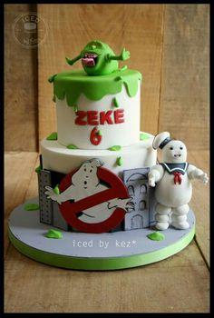Ghostbuster theme cake