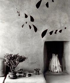 Georgia O'Keefe's home 'Ghost Ranch' in Abiquiu, New Mexico  Mobile by Alexander Calder