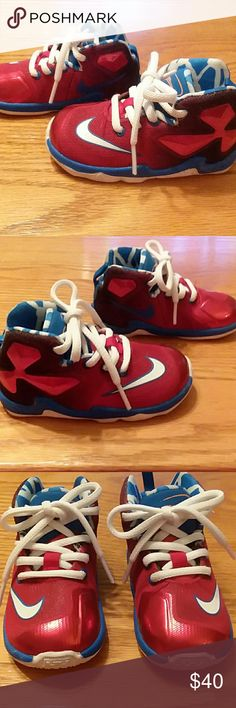 new product 9db5a 6f29c Nike LeBron 13 Baby boys shoes size 6c These cool LeBrons are in  EXCELLENT condition.