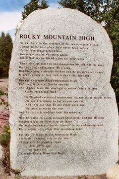 John Denver Sanctuary#Repin By:Pinterest++ for iPad#