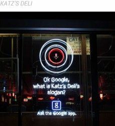 Google begins a push on Google Search as a service with real world advertising