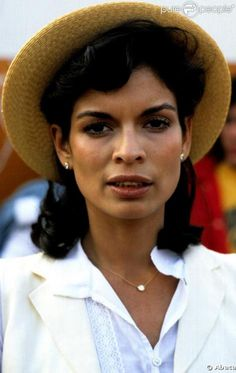 Bianca Jagger's brows