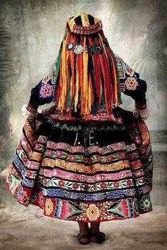 Peruvian Embroidery, Cusco, Peru~Photo series (2007 - 2012) © Mario Testino via mariotestino.com