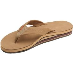 Rainbow Sandals 301ALTS Womens Double Layer Premier Leather Expresso Leather Medium  6575 BM US -- Want additional info? Click on the image.(This is an Amazon affiliate link and I receive a commission for the sales)