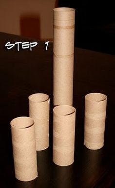 The How-To Gal: Toilet Paper Roll Art