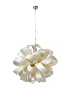 The LZF Agatha Bola Suspension hangs like a giant dandelion that's gone to seed, the wooden shade resembling dandelion parachutes that create a natural diffuser for the inner bulb. Available in several gem-like hues Contemporary Pendant Lights, Modern Pendant Light, Modern Lighting, Lighting Ideas, Lighting Design, Outdoor Lighting, Pendant Lamp, Pendant Lighting, Eclectic Chandeliers