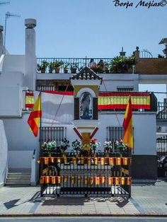 ALTAR A LA VIRGEN DEL CARMEN - Borja Mejias©