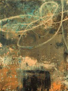 "Bill Gingles, ""North Sea"", acrylic on canvas"