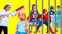 Family Doctor inject Baby Elsa Joker poison Spiderman  ✦ Venom kidnap Fr...