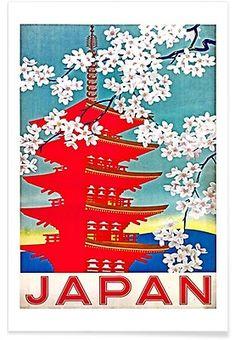 japan2 - Robert Livingston - Premium Poster