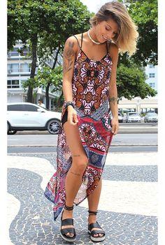 Regata Longa Estampa Madagascar - fashioncloset