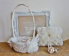 Hey, I found this really awesome Etsy listing at https://www.etsy.com/listing/208987889/flower-girl-basket-and-ring-bearer