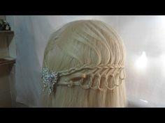 Crown Braid Bun / Hair Tutorial - YouTube
