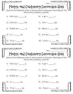 free metric worksheets metric conversions worksheets school sixth grade math science. Black Bedroom Furniture Sets. Home Design Ideas