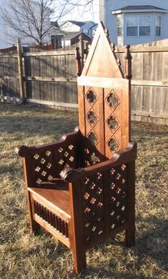 Medieval Chairs - Beautiful
