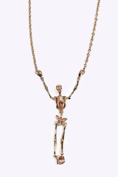 Vivienne Westwood skeleton necklace. skelllyysss