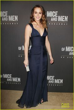 leighton meester james franco of mice men after party 03 Leighton Meester is classy chic in a dress while attending the after party for the opening night of her Broadway show Of Mice and Men on Wednesday (April 16) in…