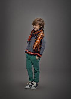Vetements enfant : Chemise en jean garçon