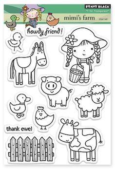 Mimi's Farm - Clear Stamps