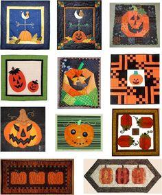 Quilt Inspiration: Free Pattern Day: Halloween