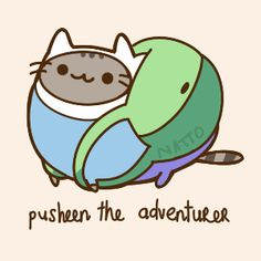 pusheen the adventurer