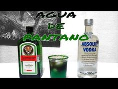 Agua De Pantano/Swamp Water -Tragos y Cócteles/Cocktails & Shots - YouTube