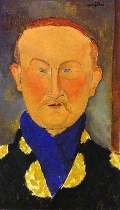 Portrait of Leon Bakst ~ Modigliani