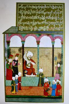OĞUZ TOPOĞLU : yavuz sultan selim aynaya ok atarken, hünername me... Turkish Art, Ottoman Empire, Central Asia, Calligraphy Art, Islamic Art, Archery, Persian, Book Art, Oriental