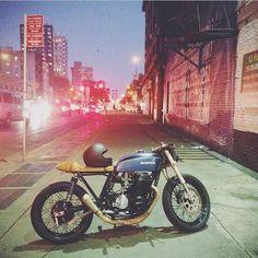 Honda cafe racer...