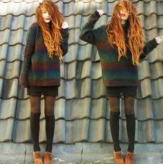 Nadia Esra! Her style >