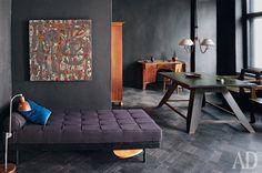 black design, enteriour, pattern, style, home, decor, idea, desire to inspire - desiretoinspire.net