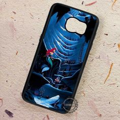 Deep Sea Art The Little Mermaid - Samsung Galaxy S7 S6 S5 Note 7 Cases & Covers