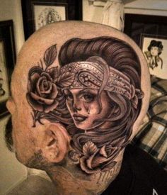 Crying Angel Face Tattoo crying woman face tattoo on head Head Tattoos, Body Art Tattoos, Girl Tattoos, Crane, Sake Tattoo, Tattoo Ink, Kopf Tattoo, Black Light Tattoo, Face Tattoos For Women